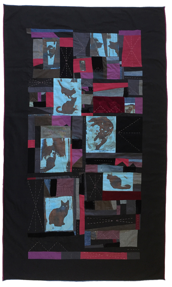 quilt of cats