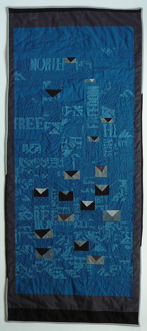 quilt of words: freedom, north, liberty, moses